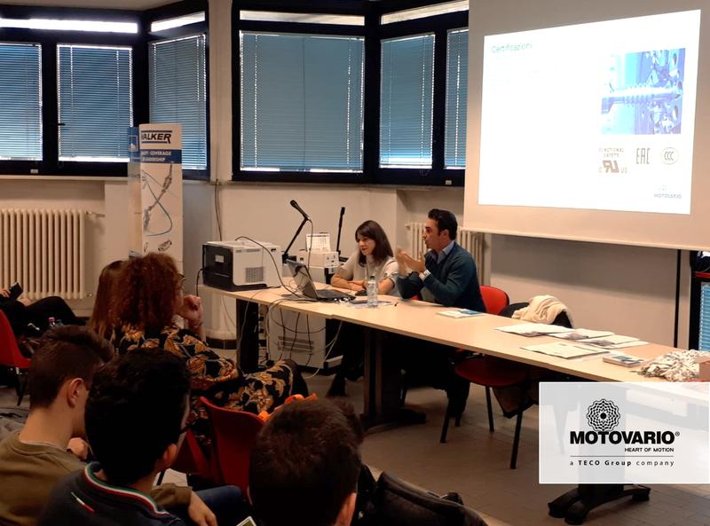 Motovario for school: we believe in the future!