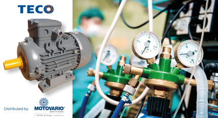 TECO aluminum motors for the medical industry