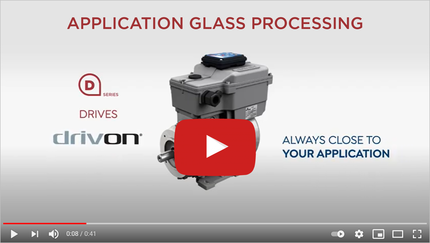 DRIVON INVERTER MOTORS: THE OPTIMAL CHOICE FOR GLASS CUTTING AND STORAGE LINE
