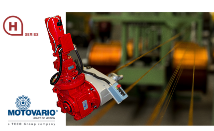 Motovario UK provide a multi stage gearbox for a complete solution to cable rewinding