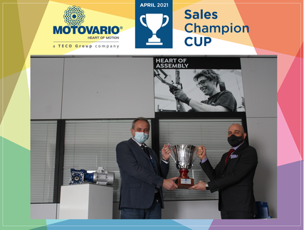 Sales Champions Cup: April cup goes to Gabriele Corradi!