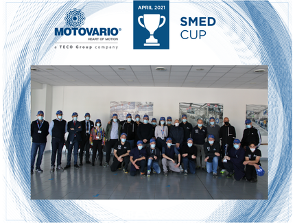 Motovario SMED CUP, a real quarterly award ceremony with the production department teams taking centre stage