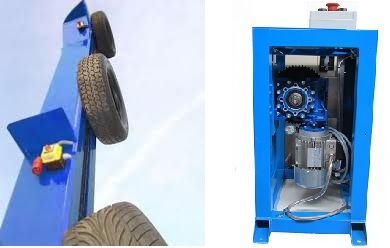 Motovario, a solution to tyre lifting