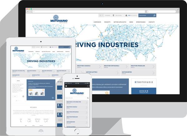 Новые наглядность и восприятие, но не только для Motovario.it.  Перемещайтесь по нашему новому веб-сайту вместе с нами!