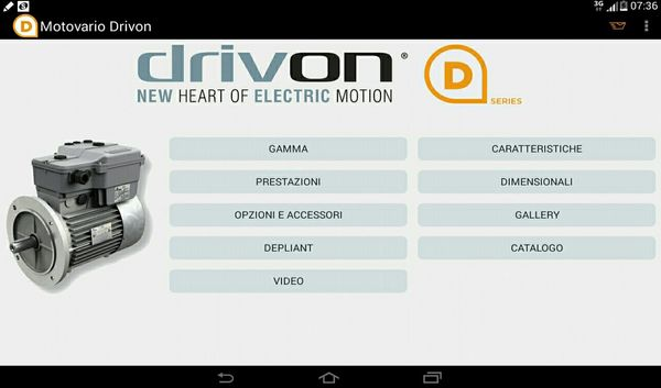 Download Motovario's new Drivon App now!