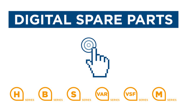 New Digital Spare Parts service, on line from February!