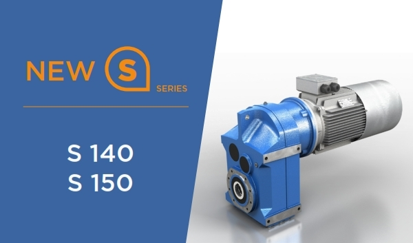 New sizes for Motovario S Series shaft mounted gear reducers