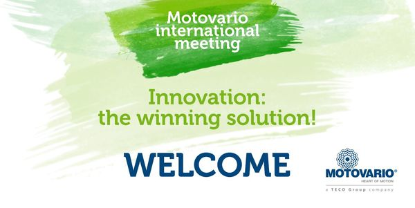 MOTOVARIO INTERNATIONAL MEETING « Innovation : the winning solution ! »