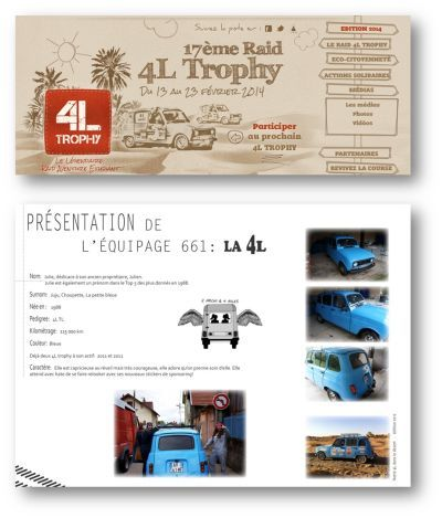 4L TROPHY and Motovario for Moroccan children