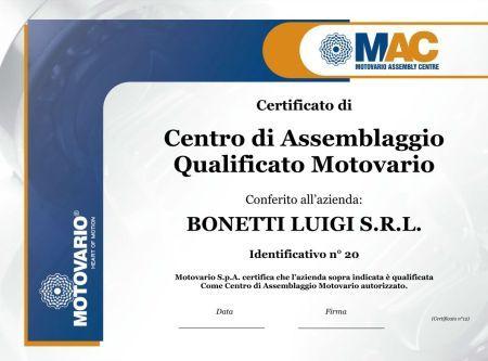 Bonetti Luigi s.r.l. становится MAC
