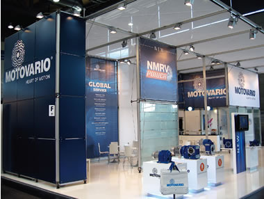 MOTOVARIO: A NEW CORPORATE IMAGE AT THE HANNOVER MESSE 20-24 April 2009