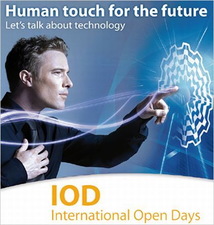 INTERNATIONAL OPEN DAYS MOTOVARIO : HUMAN TOUCH IN GERMANIA