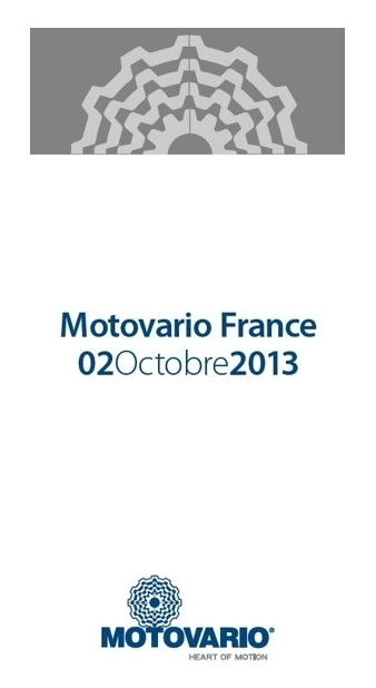 Motovario France, 2 Octobre 2013
