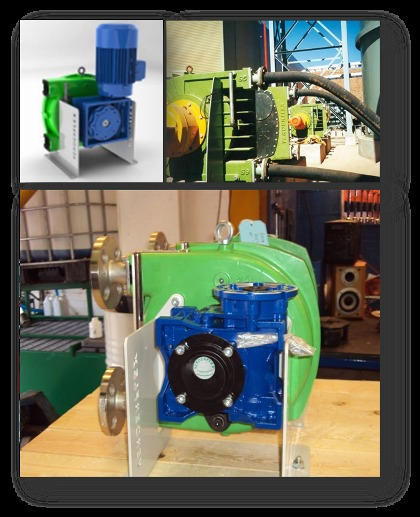 Motovario, solution for peristaltic pumps