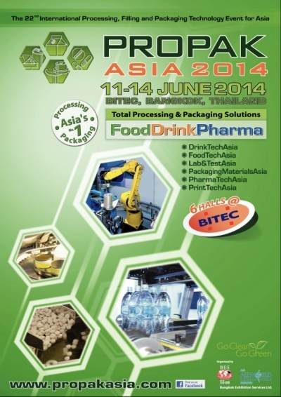 VANICH goes to PROPACK ASIA 2014