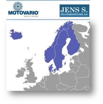 MOTOVARIO STRENGTHENS PARTNERSHIP WITH JENS S