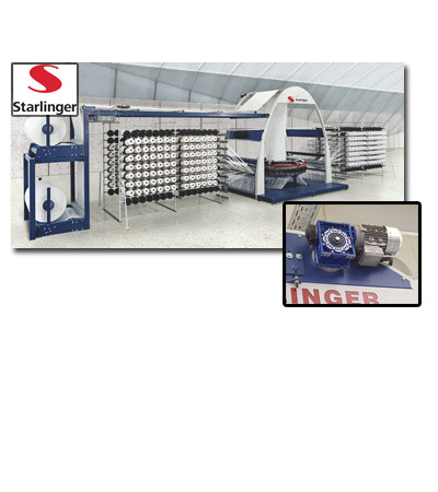 Starlinger: new solution offered by Motovario for packaging