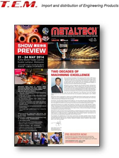 T.E.M. deltager i METALTECH 2014