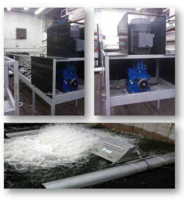 Motovario, applications for chemical industry. Solutions for wastewater treatment plant