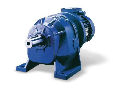 Helical gear reducers - Cast iron