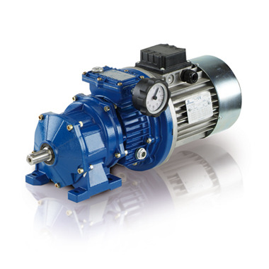 Motovariator-gear reducers - aluminium series