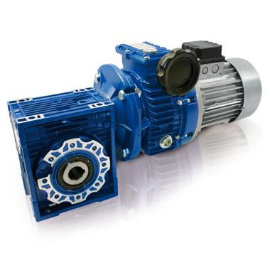 Motovariatore + riduttore a vite senza fine - serie alluminio