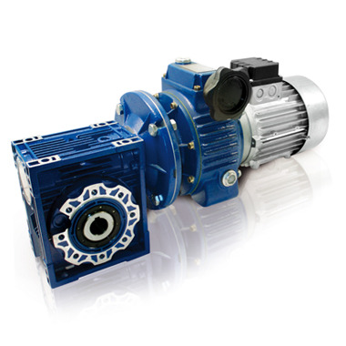Motovariator + worm gear reducer - cast iron series