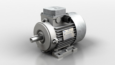 Three-phase and three-phase brake motors