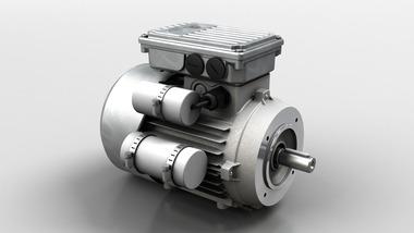 Einphasiger Motor mit hohem Anlaufdrehmoment