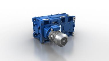 适用于铸铁重工业的平行和正交减速器