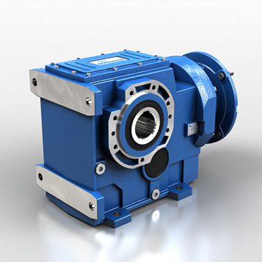 Helical bevel gear reducers - cast iron