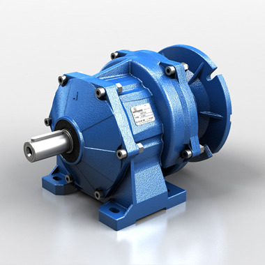 Helical gear reducers - aluminium