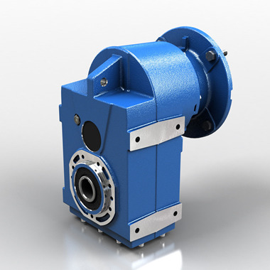 Shaft mounted gear reducer - cast iron